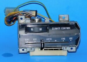 1969 1970 Cadillac Oem A C Heat Automatic Climate Control Unit Switch