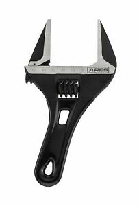 Ares 70303 53mm Stubby Adjustable Wrench Stubby Ultra Thin Design For Qui