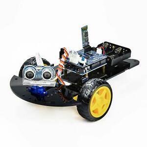 Uctronics Bluetooth Robot Car Kit For Arduino With Uno R3 Hc sr04 Ultrasonic