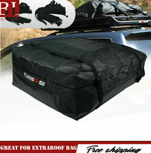 Roof Top Auto Cargo Bag Waterproof Carrier Luggage Travel Storage Space Saving