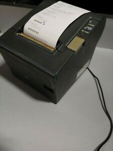 Epson Tm t88iv M129h Thermal Pos Receipt Printer With Power Supply