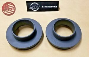 Sr Front 2 5 Lift Leveling Kit 88 07 Gmc Chevy 2wd Sierra Silverado Etc Black