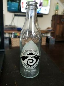Retro Vintage Pacific Coca-Cola 75th Anniversary Bottle 1906-1981