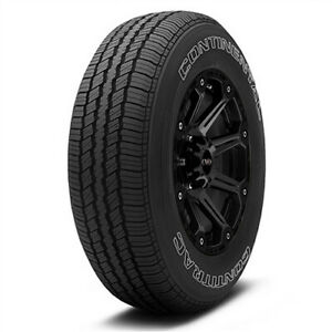 2 New P235 70r16 Continental Conti Trac 104t B 4 Ply Owl Tires