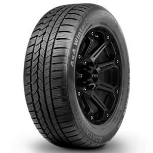 2 new P235 65r17 Continental 4x4 Winter Contact 104h B 4 Ply Bsw Tires