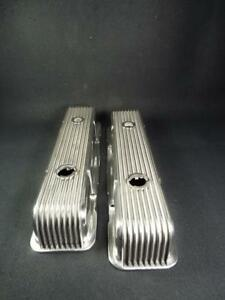 Cal Custom Sbc Valve Covers 1958 86 Just Polished Gorgeous Read Comment