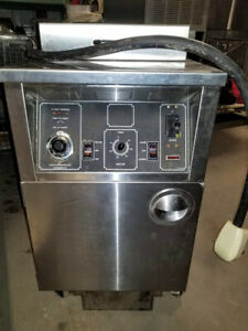 Bki Alf f Electric Large Volume Deep Fryer Auto lift 3 Ph 208 230v Filtration