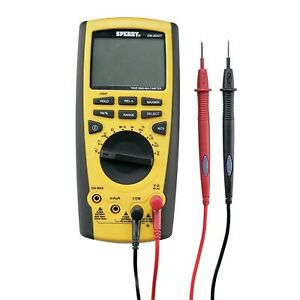 Sperry Instruments Dm6450 Digital Multimeter 9 Function Electrical Tester New