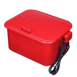 3 5 Gallon Steel Cabinet Auto Parts Washer With Electric Pump Cleaner Tool