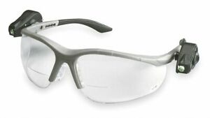 3m Clear Anti fog Bifocal Safety Reading Glasses 2 5 Diopter 11479 00000 10