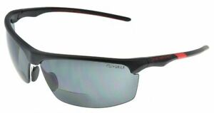 Eyedefend Bifocal Safety Read Glasses 2 00 Gray Includes Pc Decentered Lens