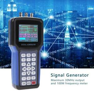 Jds2062a Handheld Digital Signal Generator 100mhz Frequency Meter 30mhz 2ch