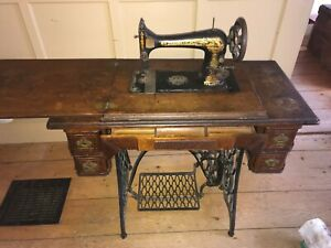 1898 Singer Treadle Sewing Machine