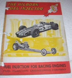 Rare 1968 Hilborn Fuel Injection Catalog Unser Chrysler Hemi Offenhauser 671 471