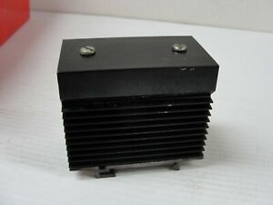 Used Carlo Gavazzi Din Rail Ssr Heat Sink For Use With 1 Phase Ssr