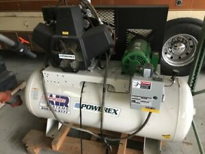 Powerex Ots0754 Oil less Reciprocating Piston Tank Air Compressor
