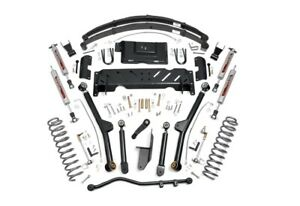 Rough Country 6 5 Long Arm Suspension Lift Kit For Jeep Cherokee Xj 4wd 67222