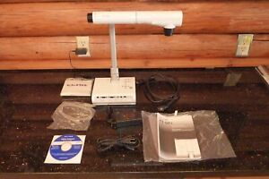Elmo Tt 02s Document Camera Like New W Transport storage Case Cables