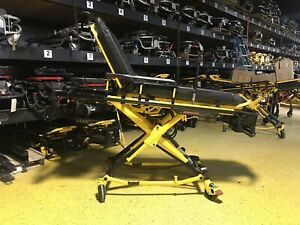 2016 Stryker Power Pro 6506 Ambulance Stretcher Cot W Steer Lock 02 Holder Ferno