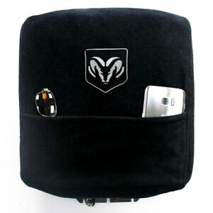Seat Armour Black Console Cover Fit For 04 20 Dodge Ram W bucket Seat Ram Logo