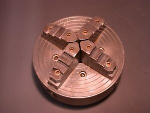 Skinner Independent 4 Jaw Chuck For South Bend Logan Atlas Metal