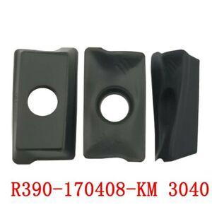 R390 170408 km 3040 Threading Carbide Inserts Cutting Tool For Lathe Cnc 10p
