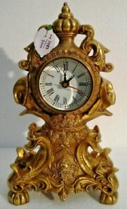 Large Antique Style Brass Tower Clock Heavy Weight Best Collection 2953