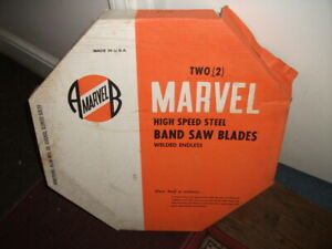 Marvel High Speed Band Saw Blades 15 6 X 1 6 Tooth Box Of 2 Blades