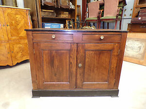 French Antique Louis Philippe Empire Sideboard Room Divider Buffet Circa 1910