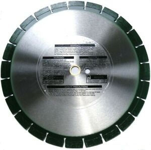 25 Pack 14 Diamond Blade For Fresh Concrete Cinder Block And Asphalt Hard Bond