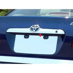 1pc Luxury Fx Chrome License Bar W mag Band For 2003 2008 Toyota Corolla