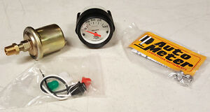 Sale Auto Meter Phantom Electric Oil Pressure Gauge 2 1 16 In 0 100 Psi 52mm