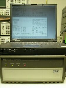 Hp Z3801a 58503a Gps Frequency time Receiver Tested Pc Interface 10mhz Output