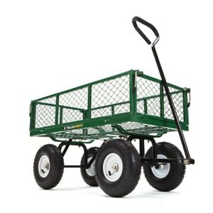 Gorilla Carts 400 Lb Steel Utility Cart