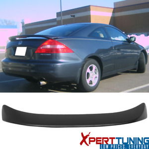 Fits 03 05 Honda Accord Coupe Oe Factory Abs Trunk Spoiler 3rd Led Brake