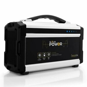 Serenelife Slspgn30 Rechargeable Battery Portable Power Generator Dual Usb