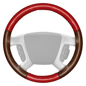 For Lincoln Nautilus 19 Steering Wheel Cover Eurotone Two color Red Steering
