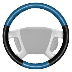For Toyota Sienna 15 17 Steering Wheel Cover Europerf Perforated Sea Blue