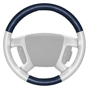 For Ford F 150 14 15 Steering Wheel Cover Eurotone Two color Blue Steering Wheel