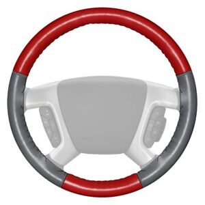 For Volkswagen Eurovan 93 96 Steering Wheel Cover Eurotone Two color Red
