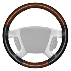 For Chevy Express Cargo 09 18 Steering Wheel Cover Eurotone Two color Brown