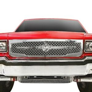 For Chevy Caprice 86 90 Main Grille 1 Pc Luxury Series 3rd Generation Design