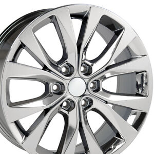 20 Fits Ford F 150 Style Wheels Pvd Chrome Set Of 4 Expedition W1x