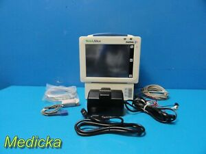 Welch Allyn Propaq Cs 246 Patient Care Monitor W New Battery leads 17582