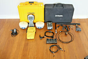 Trimble Dual R6 Model 2 Gps Gnss Glonass Rtk Survey Receiver Setup Tsc3 Tdl 450h
