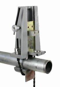 Toledo Pipe Hc 3092 Pipe Hole Cutter Chain Vise Fits Milwaukee 1660 6 1 2 Drill