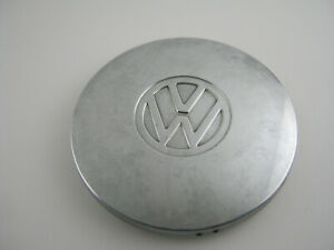 Volkswagen Vw 6 Chrome Hub Cap Bus Beetle Bug Dish Wheel Cover Metal Oem Hubcap