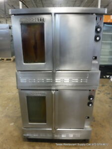 Blodgett Gas Double Deck Full Size Convection Oven