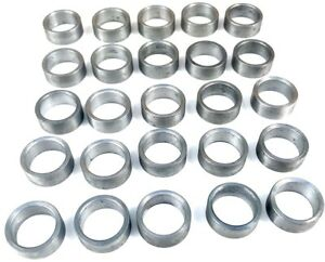 25 Pack 630 295 For Stihl Cut Off Saw Blade Arbor Adapter Reducer Ring Steel