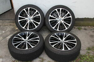 Set Of Four 4 Toyota Camry 2018 18 Oem 235 45 18 Rims Wheels Tires